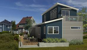 modern nice design of the affordable houses that has blue nuance