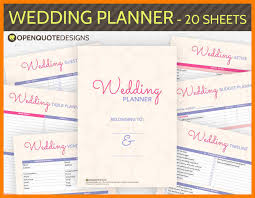 wedding planner organizer 7 free printable wedding planner organizer hostess resume free