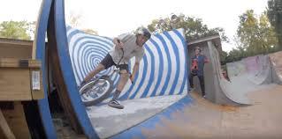wheel of misfortune in trey jones u0027 backyard ride bmx