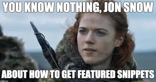 You Know Nothing Meme - the best seo memes of 2018 search fifteen design