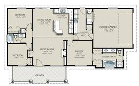 Ranch Style House Plans With Basement by Ranch Style House Plan 3 Beds 2 Baths 1493 Sq Ft Plan 427 4 4
