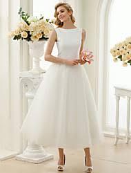 t length wedding dresses a line tea length wedding dress lightinthebox