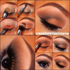 Pretty Orange 20 Beautiful Makeup Tutorials For Brown Eyes Pretty Designs