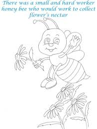 bee and dove story coloring page for kids 2