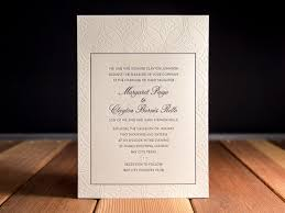 wedding invitations johnson city tn letterpress wedding invitation gallery parklife press