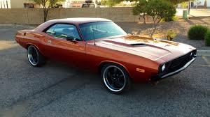 Dodge Challenger 1972 - 1972 dodge challenger resto mod f237 seattle 2014