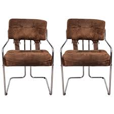 a pair of guido faleschini armchairs for mariani pace collection