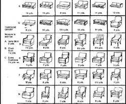 Upholstery Yardage Chart Our Services