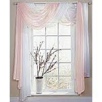 Scarf Curtains Curtain Scarves Home Design Ideas And Pictures