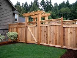 backyard fence lighting home outdoor decoration