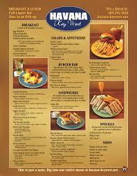 havana restaurant menu key west u2013 best key west restaurant menus