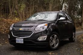 chevy equinox review 2016 chevrolet equinox ltz canadian auto review