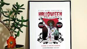 23 Halloween Party Flyer Templates Free U0026 Premium Download