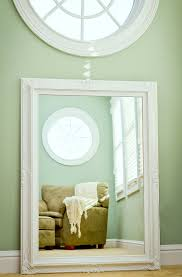 White Framed Mirror For Bathroom Extraordinary Large White Wall Mirror Mirrors Oval Frame In