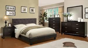 contemporary espresso queen king bedroom set bed