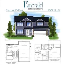 carmel 2d floor plan homes by fleetwood