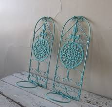Shabby Chic Paris Decor by Decorative Wall Planters Outdoor Wall Planters Garden Shabby