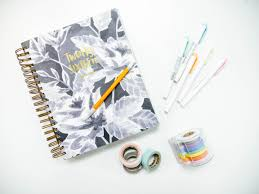 tips for organizing your planner bloguettes
