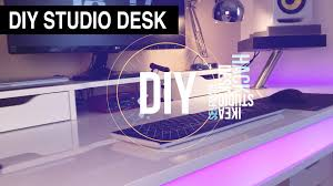 Producer Studio Desk by Diy Studio Desk Tisch 2016 Ikea Hack Danny Chris Youtube