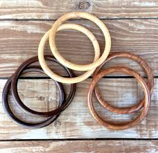 new crafted wood purse handles color