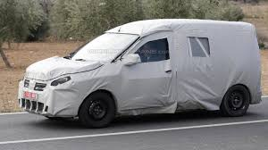 renault lodgy price dacia lodgy mpv as a commercial vehicle spied