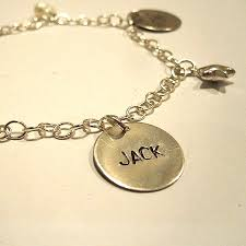 name charm charm bracelet