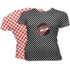 personalized scoop rockabilly style womens t shirts men s t shirts custom
