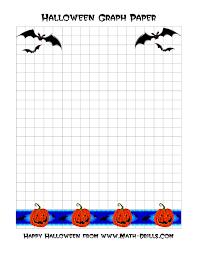 halloween graph paper a