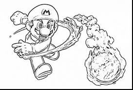 astounding super mario castle colouring pages with super mario