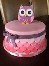 owl cakes for baby shower owl baby shower cake cakecentral