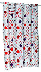 108 Inch Long Shower Curtain Amazon Com Carnation Home Fashions Ez On No Hooks Needed 108 By