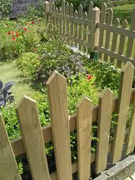 cloture jardin bois cloture en bois pour jardin impressionnant sur dacoration