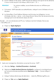 si e auto pour b hp page embedded web server ews configuration to enable auto