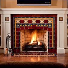 fireplace motawi tileworks