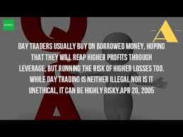 Pattern Day Trader H1b | is it illegal to be a day trader youtube