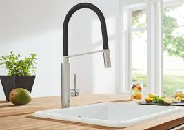 Pro Kitchen Faucet by Grohe Concetto Semi Pro Single Handle Kitchen Faucet U0026 Reviews