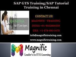 sap tutorial ppt ppt sap gts training sap tutorial training in chennai powerpoint
