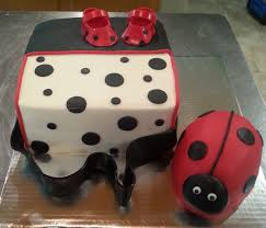 ladybug diaper bag baby shower cake baby shower cakes