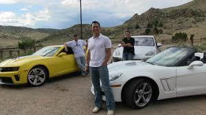 camaro zl1 vs corvette zr1 2013 chevy corvette v camaro zl1 v porsche cayenne s mile mashup