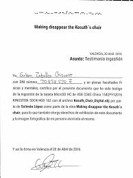 Asapscience Periodic Table Lyrics Making Disappear The Kosuth S Chair U2013 Solimán López Updated Art Studio