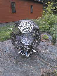 Sphere Fire Pit by Online Store Third Shift Fabrication