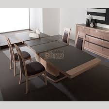 table de cuisine contemporaine table de salle a manger contemporaine avec rallonge somum