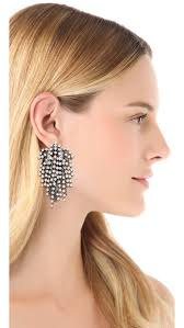 dannijo earrings dannijo cecile earrings shopbop