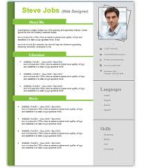 best free resume templates 3 free resume cv templates for microsoft word