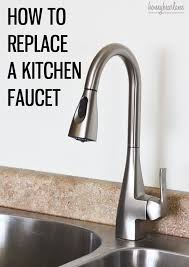 moen kitchen sink faucet repair best 25 kitchen faucet repair ideas on faucet repair