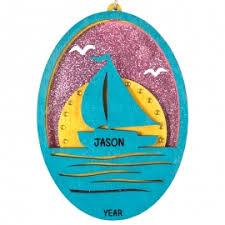 boating ornaments gifts sailing ornaments