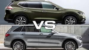 honda cr v vs lexus 2016 nissan x trail vs 2015 mercedes benz glc 350e 4matic youtube