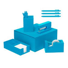 Blue Desk Accessories Numo Manufacturing Custom Unique Desk Accessories Inkhead
