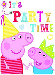 peppa pig party peppa pig party invites pack of 6 co uk toys