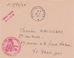bureau central des archives militaires la poste aux armees le bureau postal militaire 617 de fort lamy suite